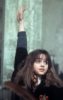 traintracks: hermione raising hand