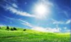 Солнце, небо и трава