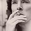 sherlock smoking