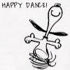 sharp2799: happy dance Snoopy