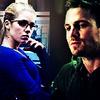 Frust-sheep: Arrow: Felicity&Oliver -bluegreen