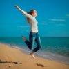 Прыжок на пляже Карпасия