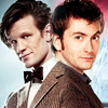 David Tennant, Doctor Who, Matt Smith