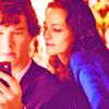 Sherlock + Irene
