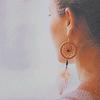 ~ dreamcatcher earring