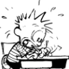 calvin writing