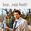 Ass-Butt, Supernatural: Hey
