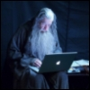 Gandalf checks email