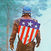 Cap; The star spangled man with a plan
