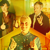 Sherlock - S and J and M thumbs up