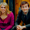 Billie Piper and David Tennent