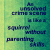 Sherlock parody - squirrel parenting ski