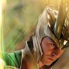 Avengers Loki looking down