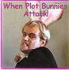 when plot bunnies attack