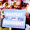 west wing; toby » bartlet's boy