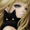 девчонка и кошка