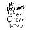 Patronus is a 67 Chevy Impala
