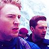 Avengers-Steve Bucky snow