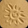 Солнце на песке