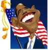 Обама и флаг