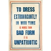 Dress in Wartime Poster
