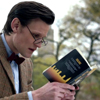 tangotabby: 11th Doctor reading back cover