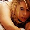 in bed, sleepy