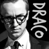 lijahlover: Draco in glasses close up