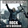 Boromir rock
