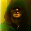 Arrow> Green-yellow shadow