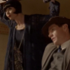 looking sharp you two, tandem, phryne and jack, mfmm