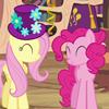 ponies in hats