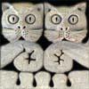 Kupukello: Gargoyle: Cats in shock