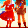 (ノ◕ヮ◕)ノ*: ・゚✧: Zelda and Link Together
