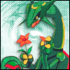 Pokemon - Rayquaza Flowers