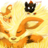 arcanine and zorua, growlithe