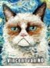 Grumpy Cat Vincent Van Gogh