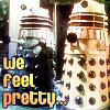 Zuzka: daleks feel pretty