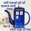 Zuzka: tardis tea