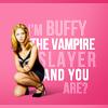 Kristin: buffy