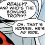 silver surfer-that's norrin. he's my rid
