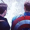 Steve/Bucky feels abound