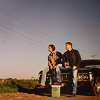 Naomi: SPN Sam and Dean roadside scene