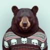 Мишадь в свитере