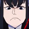 klk - satsuki - frown