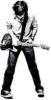 волосатый, гитарист, душа, музыка, гитара