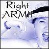 Erika aka I'm Cute!: right arm!