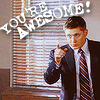 one hoopy frood: Dean Winchester