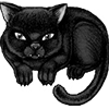 satanic cat
