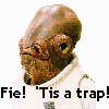 Star Wars - Ackbar Shakespeare